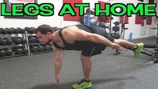 Intense Tabata At Home Leg Workout (HIIT) by Anabolic Aliens