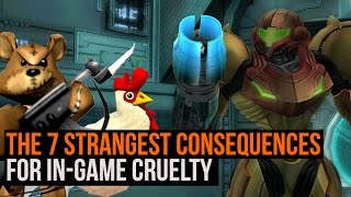 The 7 strangest consequences for in game cruelty