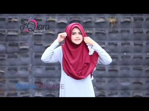 Video Tutorial & View Tazkia Vintage by deQiara Hijab