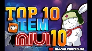 ТОП 10 тем для miui 10 ( top 10 themes for miui 10)👍👍