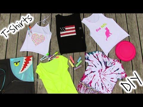 DIY Clothes! 5 DIY T Shirt Projects – Cool!