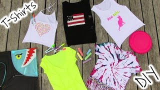 DIY Clothes! 5 DIY T Shirt Projects - Cool!