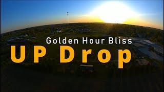 FPV - Up Drop - Golden Hour Bliss