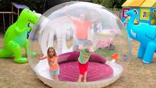 Дети сами построили DIY Игровые домики