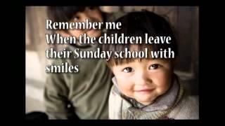 Remember Me (Karaoke Instrumental Track) Mark Schultz