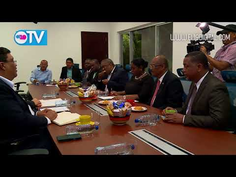 Presidente Daniel Ortega se reúne con delegación de alto nivel de Surinam