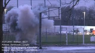 31.01.2018 – Bortsprængning af kemikalie ved DTU – Lyngby