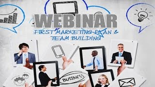 WEBINAR – First Marketing Plan