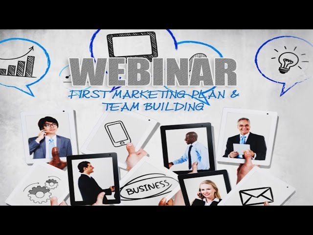 WEBINAR – First Marketing Plan