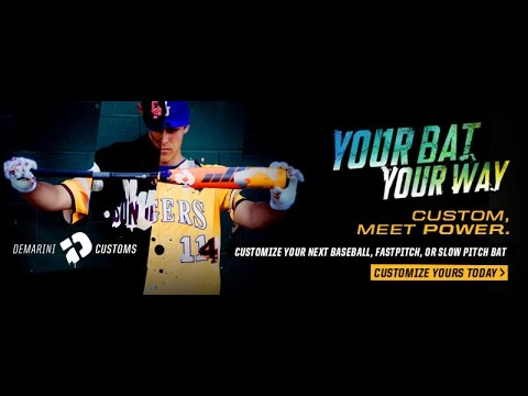 Build Your Own DeMarini Custom Bat at JustBats.com!