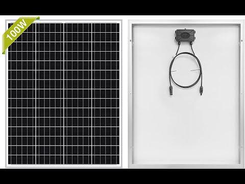 Newpowa 100 Watts 12 Volts Monocrystalline Solar Panel - I like it!