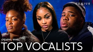The Top Vocalists On 'Open Mic' | Genius