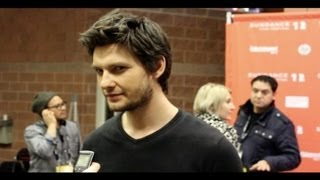 Бен Барнс, Ben Barnes on the red carpet during the Sundance Film Festival.