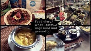 Food diary/ what i eat #12 ungesund und gesund...Indisch,Schokolaterie,Davert etc..