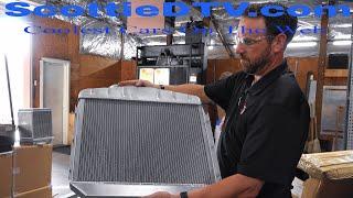 How a Custom Automotive Radiator is Made Brice Thomas Radiator Plant Tour