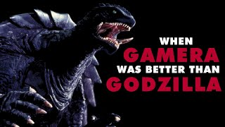 How Gamera Beat Godzilla At His Own Game