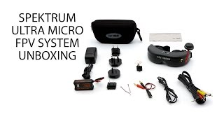 Overview - Spektrum Ultra Micro FPV System with Headset Unboxing