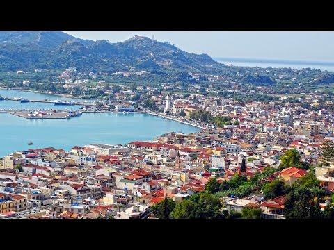 Video Zakynthos Town , Greece HD
