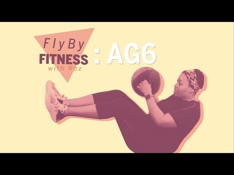 FlyBy Fitness with Roz: AG6 Makes You Feel Like You're in a Video Game | Health