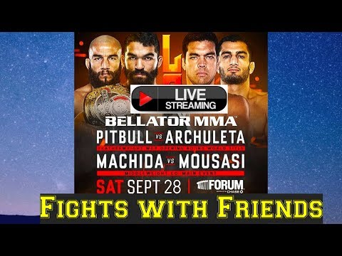 BELLATOR 228 MACHIDA VS MOUSASI LIVE PLAY BY PLAY!
