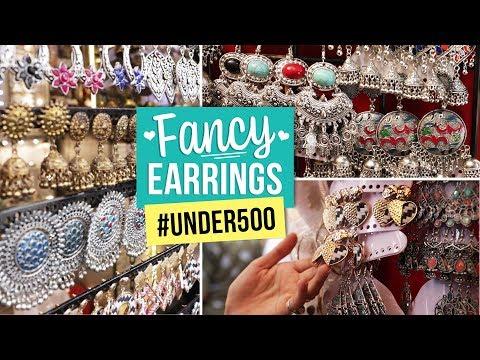 Fancy Earrings #Under500 | Ep 08 | Fashion | Street Shopping | Lifestyle | Pinkvilla