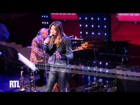 Carla Bruni - Salut marin en live dans le Grand Studio RTL - RTL - RTL