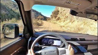 2020 Land Rover Defender 110 SE (Off-Road) POV Drive (3D Audio)(ASMR) by MilesPerHr