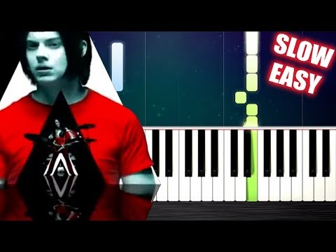 The White Stripes - Seven Nation Army - SLOW EASY Piano Tutorial by PlutaX