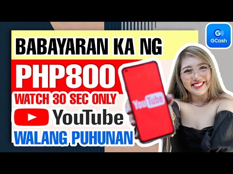 FREE GCASH: P800 BY WATCHING YOUTUBE VIDEOS | DAILY PAYOUT WALANG PUHUNAN | LEGIT PAYING WITH PROOF