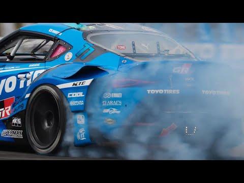 TOYO TIRESチーム D1グランプリ2021年の開幕戦「奥伊吹ドリフト」追走ドリフトのハイライト動画