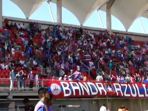 """Iberia - Vamos Iberia"" Barra: Banda Azulgrana • Club: Deportes Iberia"