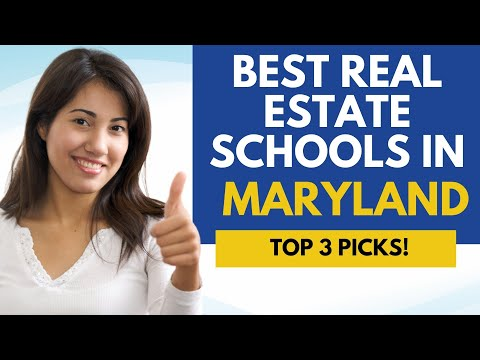 Best Online Real Estate Schools In Maryland - 3 Top Maryland Real ...