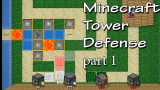Minecraft Tower Defense - Ep.1 - Stupid Ghasts! - part 1