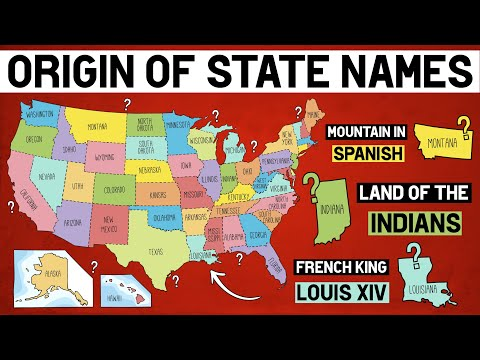 History Lesson: Origin of US State Names