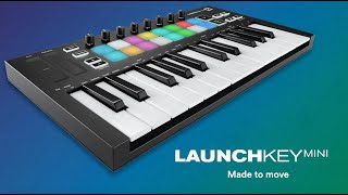 NOVATION Launchkey Mini Mk3 - Video