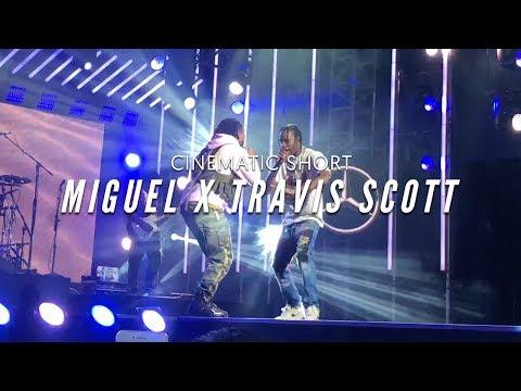 Miguel x Travis Scott Skywalker (Live Performance)