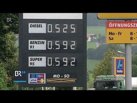 Die Dichte des Benzins ai-92 bei 0 Grad