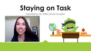 How To Stay on Task [Social Skill]