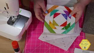 Foundation Paper Piecing | Pineapple Quilt Block Tutorial And NEW! Ruler