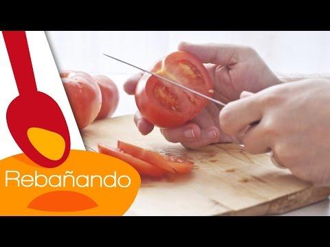Cómo Cortar Tomate Como Un Chef