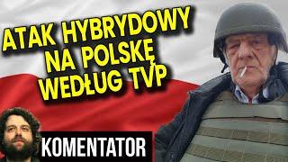 Atak Hybrydowy na Polskę według TVP! Akurat Gdy PIS Ma Aferę Do Przykrycia