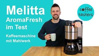 Melitta AromaFresh [1021-01] Filterkaffeemaschine mit Mahlwerk - Erfahrungs- & Testbericht 2020