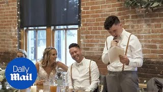 Autistic brother leaves everyone in tears with best man speech