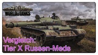 Vergleich: Tier X Russen-Mediums (907/140/62a/430)