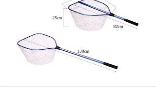 10 Подсачек с Алиэкспресс AliExpress Fishing landing net Рыболовный сачок Крутые товары из Китая