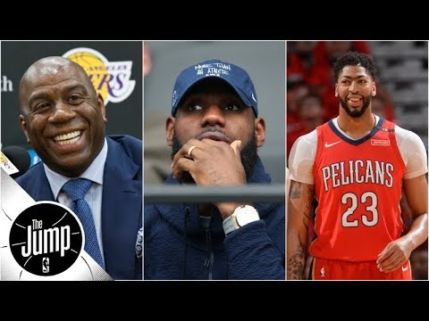 Does Anthony Davis agent news mean he'll join LeBron on Lakers? | The Jump | ESPN