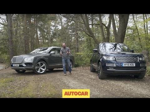 Bentley Bentayga vs Range Rover SVAutobiography | Driven | Blinged SUV shootout | Autocar