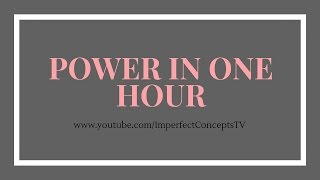 Power In One Hour: How To Achieve Your Task With Laser Focus