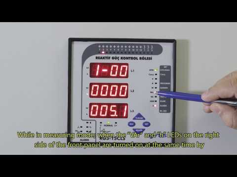 RG3-15 CLS Power Factor Controller Inductive Reactive Capacitive Reactive Energy