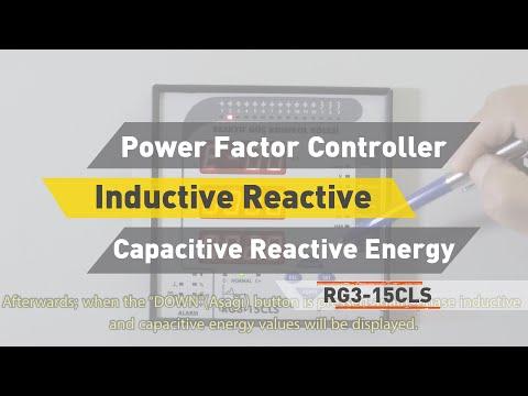 TR RG3-15 CLS Power Factor Controller Inductive Reactive Capacitive Reactive Energy